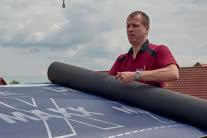 Paroprzepuszczalne folie dachowe